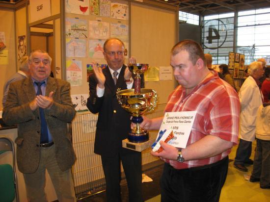 Coupe de France 2008 à Mr Lapray Pierre