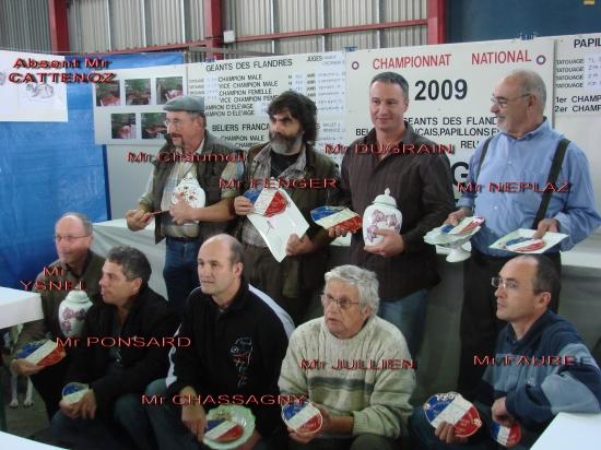 Les Lauréats 2009